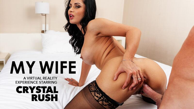 My Wife feat. Crystal Rush, Brad Sterling - VR Porn Video