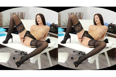 Naughty Secretary Wants to Be Punished - Katy Rose - VR Porn - Image 108