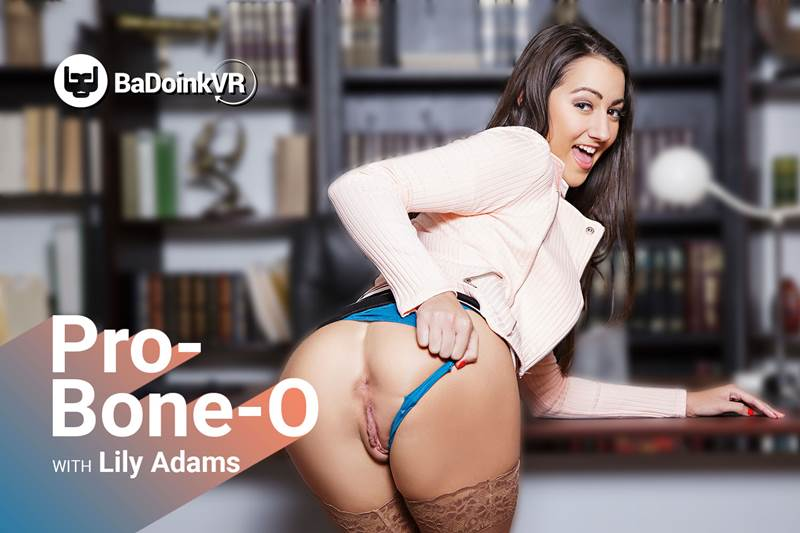 Pro-Bone-O feat. Lily Adams - VR Porn Video
