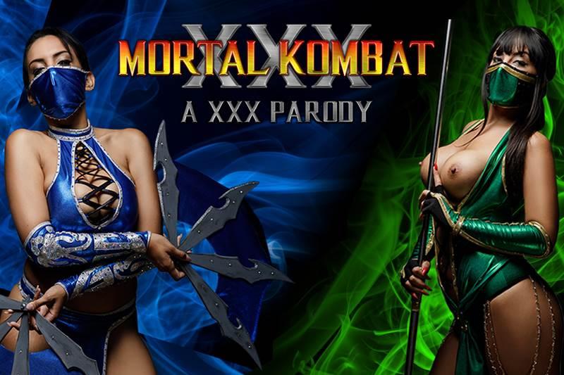 Mortal Kombat XXX Parody feat. Alba De Silva, Katrina Moreno - VR Porn Video