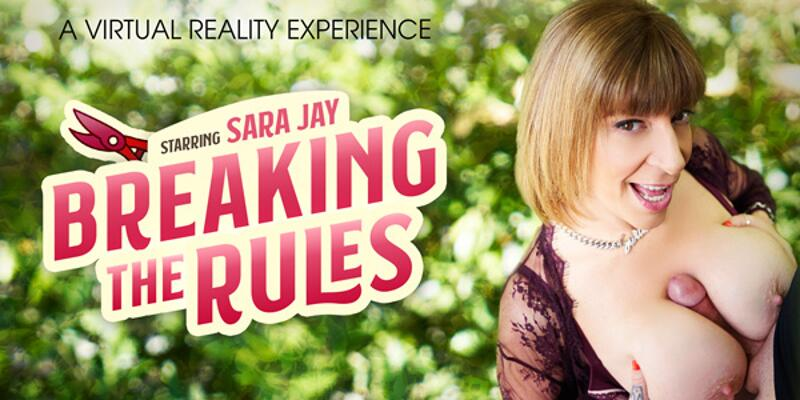 Breaking The Rules feat. Sara Jay - VR Porn Video