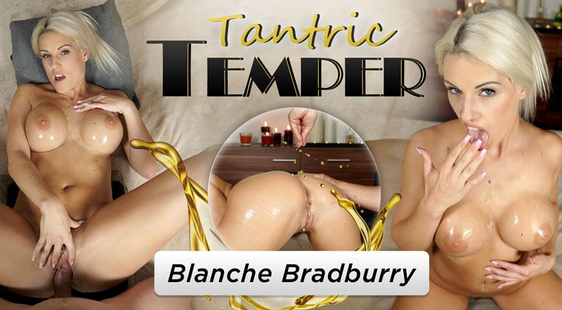 Tantric Temper feat. Blanche Bradburry - VR Porn Video