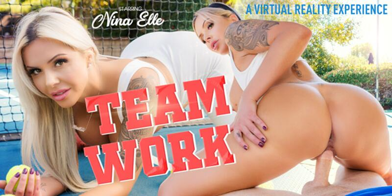 Team Work feat. Nina Elle - VR Porn Video