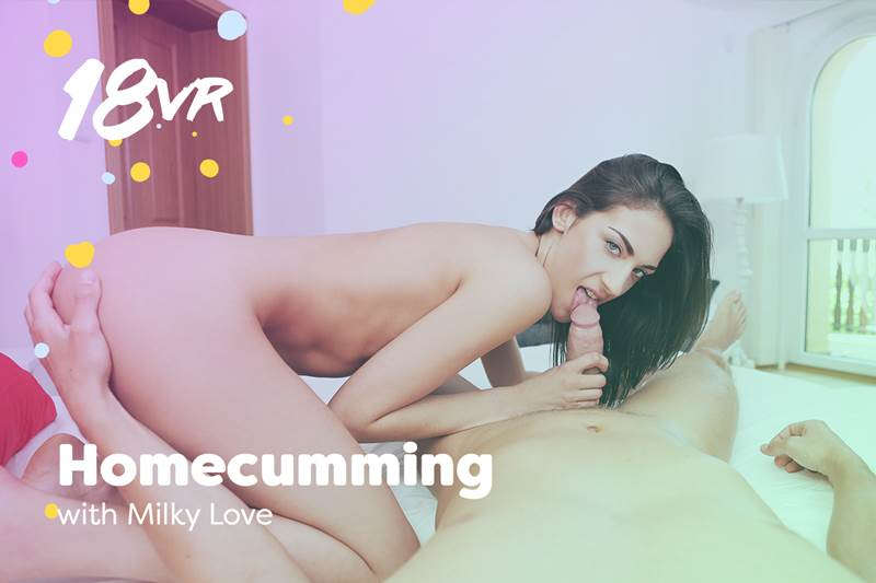 Homecumming feat. Miky Love - VR Porn Video