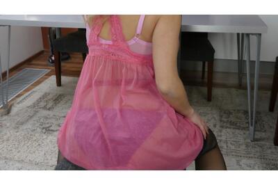 Pregnant In Panties - Kathy Kozy - VR Porn - Image 14