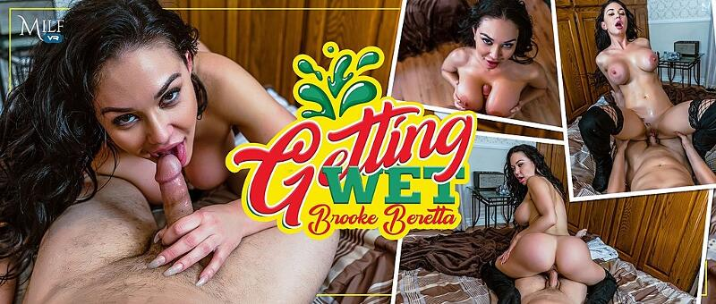 Getting Wet feat. Brooke Beretta - VR Porn Video