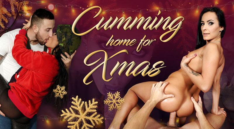 Cumming Home for Xmas feat. Lexi Dona - VR Porn Video