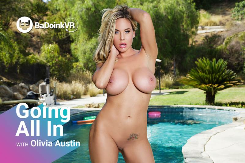 Going All In feat. Olivia Austin - VR Porn Video