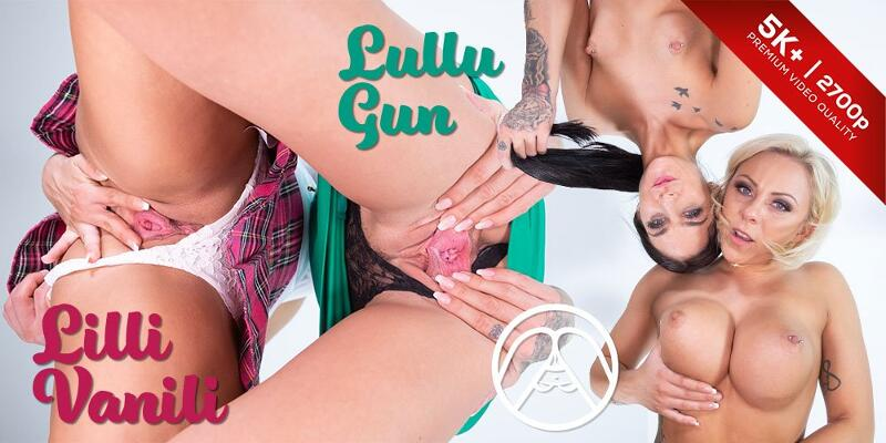 Deutsche Face Sitting feat. Lilli Vanilli, Lullu Gun - VR Porn Video