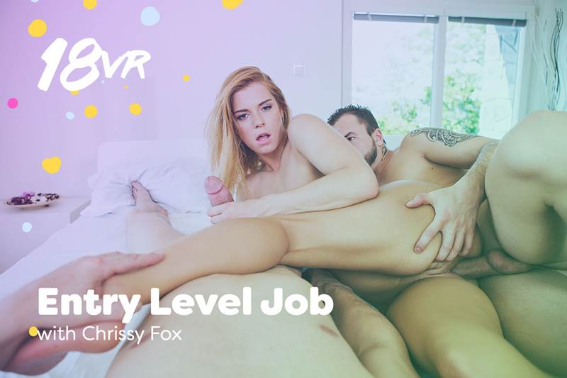 Entry Level Job feat. Chrissy Fox - VR Porn Video