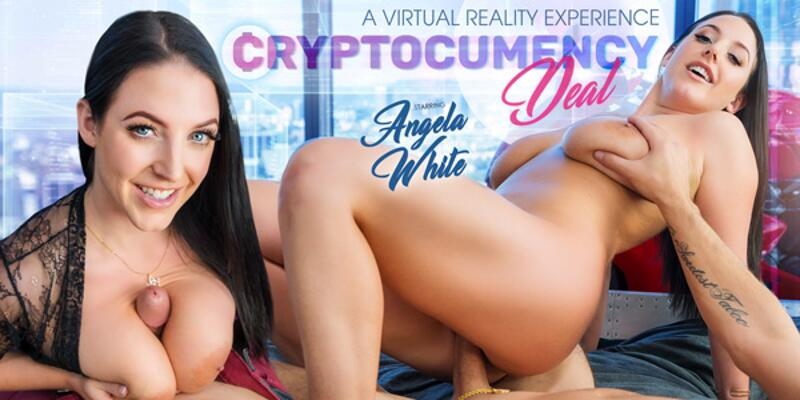 CryptoCUMency Deal feat. Angela White - VR Porn Video