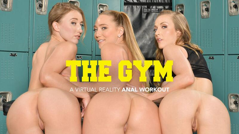 The Gym feat. AJ Applegate, Karla Kush, Riley Reyes, Bambino - VR Porn Video