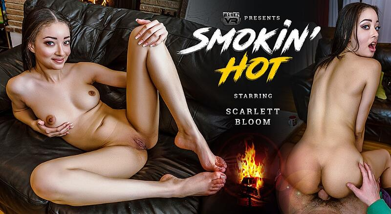 Smokin' Hot feat. Scarlett Bloom - VR Porn Video
