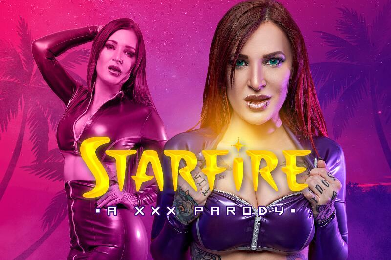 Starfire A XXX Parody feat. Alexxa Vice - VR Porn Video