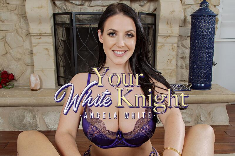 Your White Knight feat. Angela White - VR Porn Video