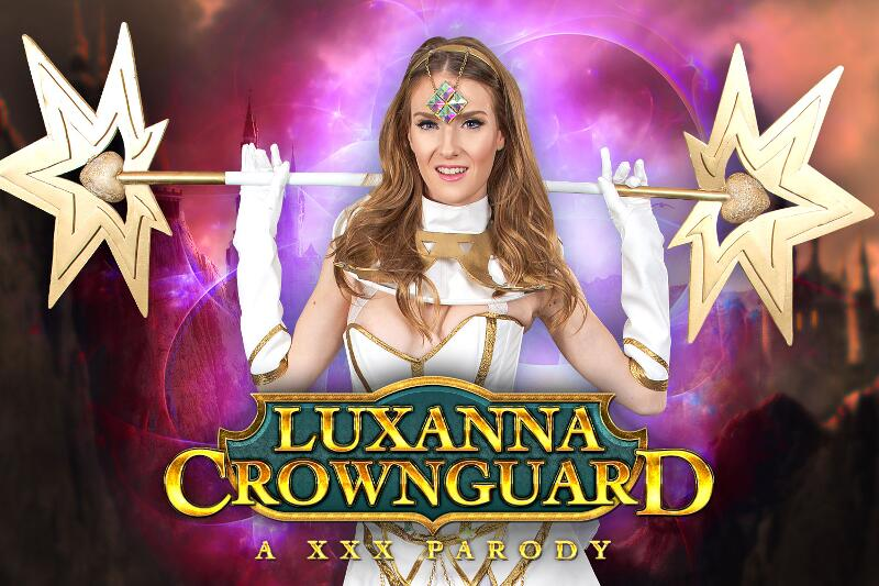 Luxana Crownguard A XXX Parody feat. Ashley Lane - VR Porn Video