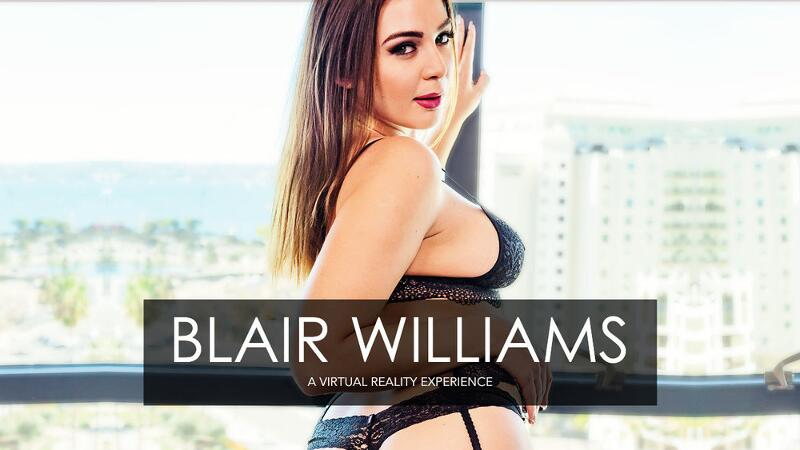 Porn Star Experience feat. Blair Williams, Ryan Driller - VR Porn Video
