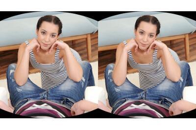 Patient Dude Gets Deep Blowjob - Amanda Estela - VR Porn - Image 2
