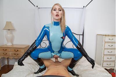 Metroid A XXX Parody - Lila Frey - VR Porn - Image 4