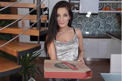 Hope You Brought Some Pizza - Lexi Dona - VR Porn - Image 1