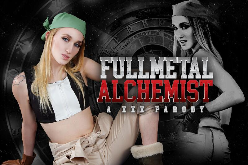 Full Metal Alchemist A XXX Parody feat. Victoria Gracen - VR Porn Video