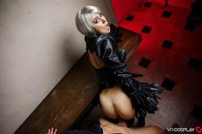 Nier: Automata a XXX Parody - Zoe Doll - VR Porn - Image 9