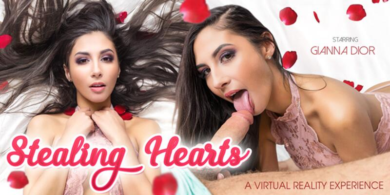 Stealing Hearts feat. Gianna Dior - VR Porn Video