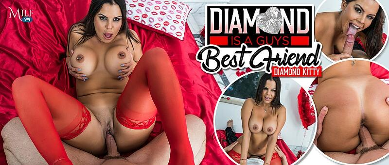 Diamond is a Guy's Best Friend feat. Diamond Kitty - VR Porn Video