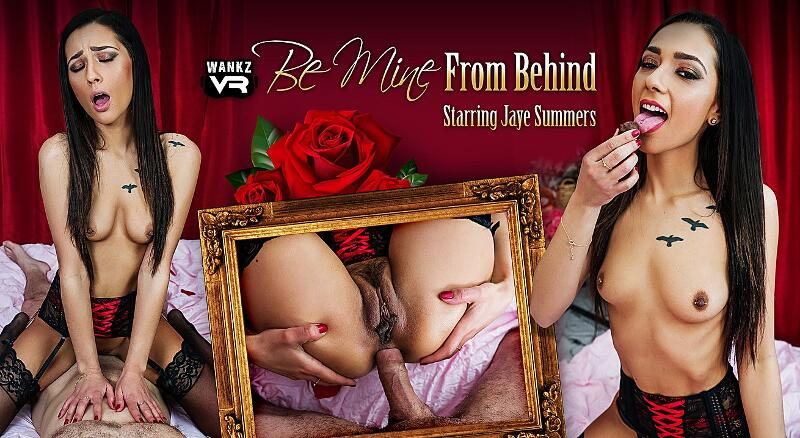 Be Mine From Behind feat. Jaye Summers - VR Porn Video
