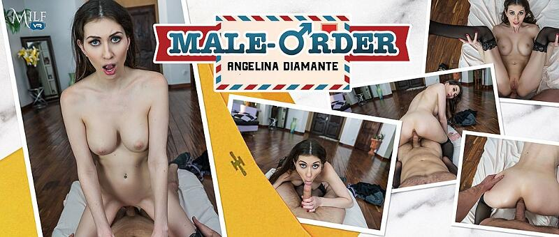 Male-Order feat. Angelina Diamanti - VR Porn Video