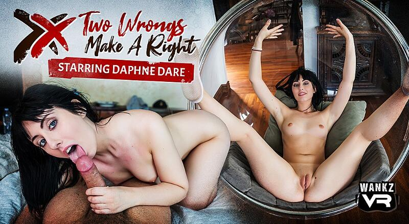 Two Wrongs Make A Right feat. Daphne Dare - VR Porn Video