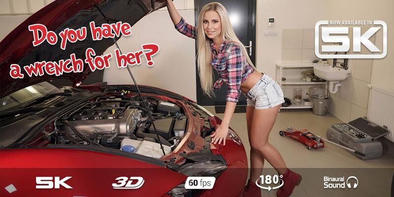 Red Car Passion feat. Lola Myluv - VR Porn Video