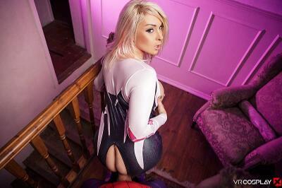 Spider-Gwen A XXX Parody - Victoria Summers - VR Porn - Image 20