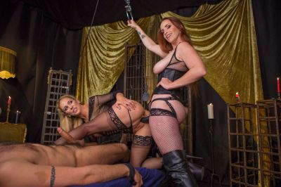 Property of Cherie DeVille Part 2: Lesbian Cuckolding - Bella Rossi, Cherie DeVille - VR Porn - Image 14