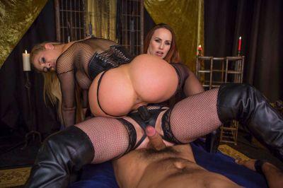 Property of Cherie DeVille Part 2: Lesbian Cuckolding - Bella Rossi, Cherie DeVille - VR Porn - Image 17