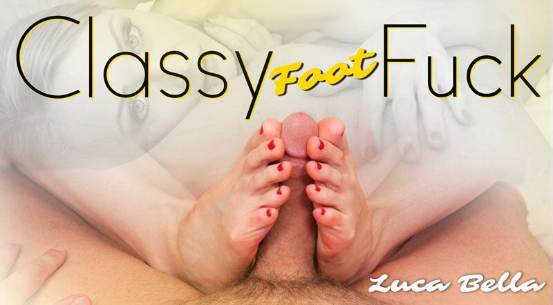 Classy Foot Fuck feat. Luca Bella - VR Porn Video