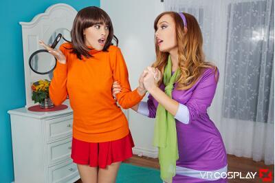 Scooby Doo A XXX Parody - Dani Jensen, Stephanie West - VR Porn - Image 1