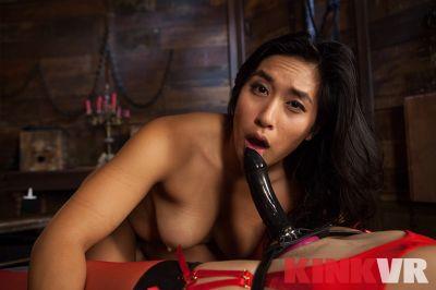 Lezdom Anal POV - Mia Li, Mona Wales - VR Porn - Image 2