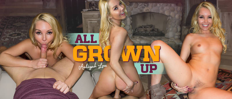 All Grown Up feat. Aaliyah Love - VR Porn Video