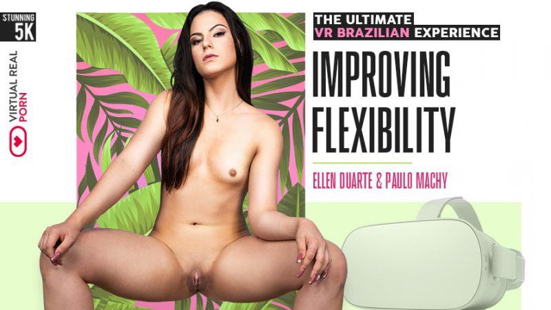 Improving Flexibility feat. Ellen Duarte - VR Porn Video