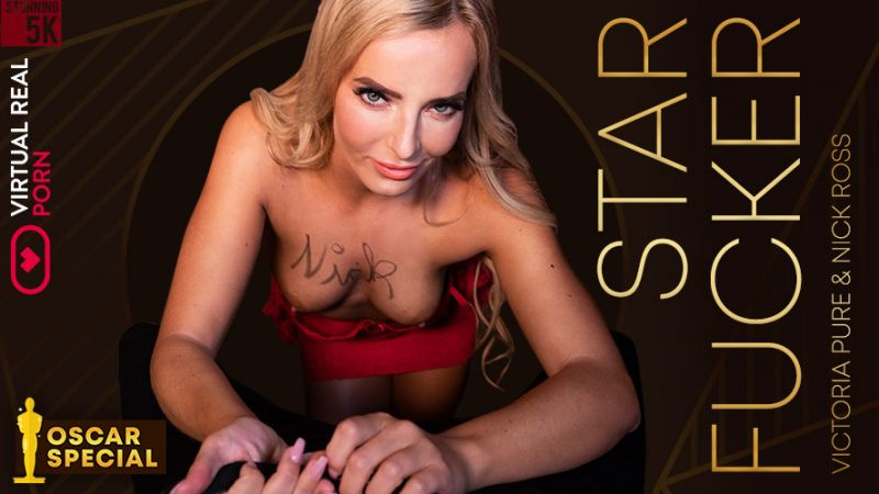Star Fucker feat. Victoria Pure, Nick Ross - VR Porn Video