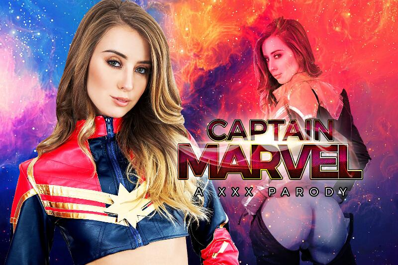 Captain Marvel A XXX Parody feat. Haley Reed - VR Porn Video