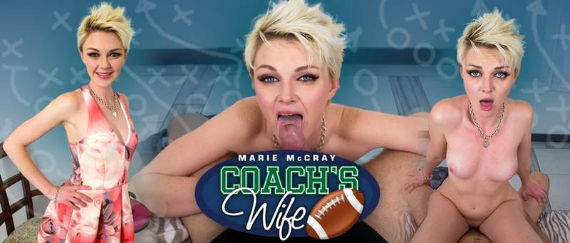 Coach's Wife feat. Marie McCray - VR Porn Video
