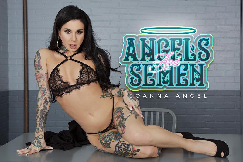 Angels and Semen feat. Joanna Angel - VR Porn Video