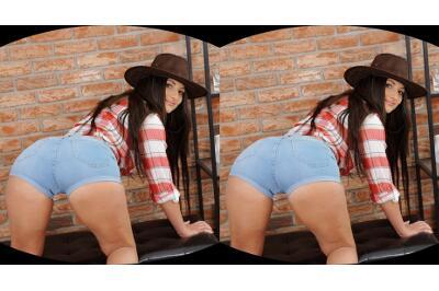 Cowboy Hat Over Wet Pussy - Nicolette Noir - VR Porn - Image 3
