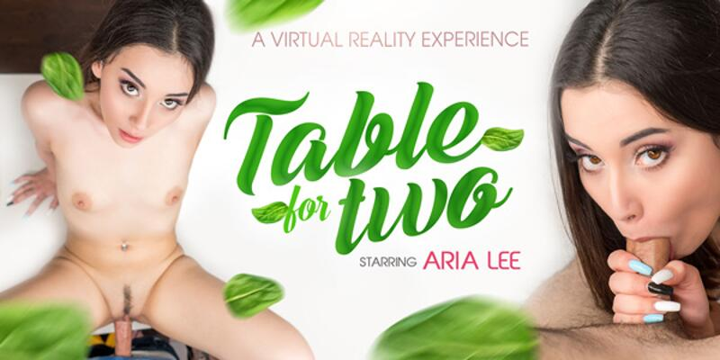 Table For Two feat. Aria Lee - VR Porn Video