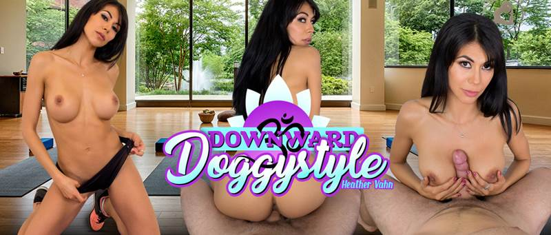 Downward Doggystyle feat. Heather Vahn - VR Porn Video
