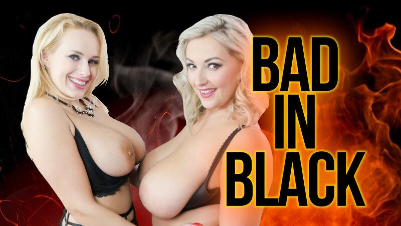 Bad In Black feat. Angel Wicky, Krystal Swift - VR Porn Video
