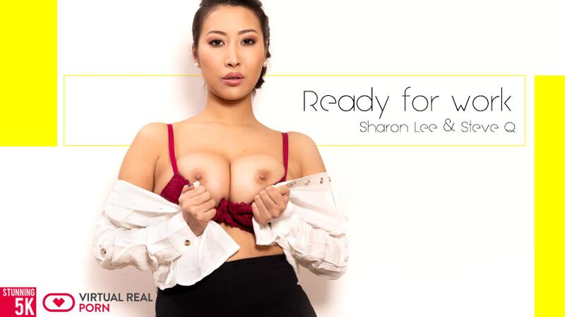 Ready For Work feat. Sharon Lee - VR Porn Video