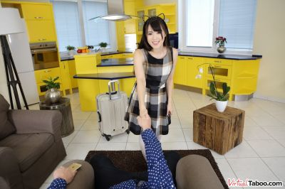 Japanese Daughter Gets Warm Welcome - Mai Honda - VR Porn - Image 30